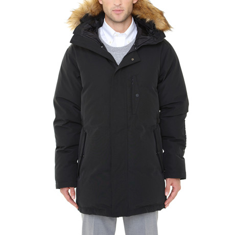 Heated Parka // Black (Small)