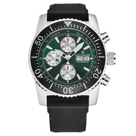 Revue Thommen Divers Chronograph Automatic // 17030.6521 // New