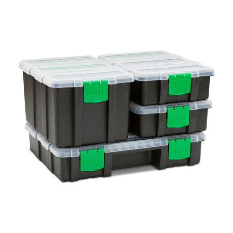 Clear Lid Storage Container Set // 4 Piece