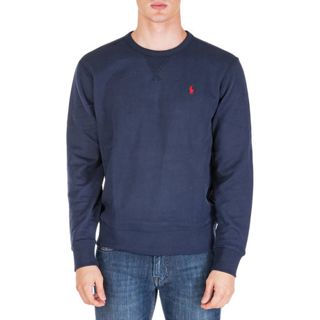 Crew Neck Sweatshirt // Navy (S)