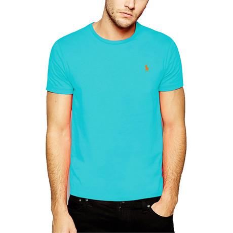 Crew Neck T-Shirt // Turquoise (S)