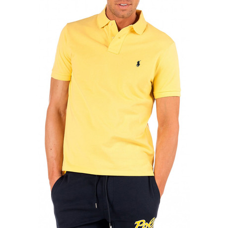 Polo Shirt // Beach Lemon (S)