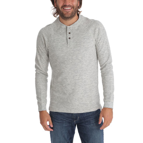 Dustin Thermal Henley // Gray Heather (S)