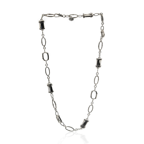 John Hardy Sterling Silver Bamboo Necklace I // Store Display