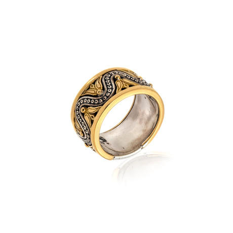 Konstantino Hebe Sterling Silver Ring // Ring Size 7 // Store Display