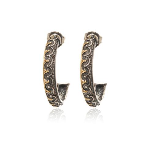 Konstantino Hebe Sterling Silver Earrings  // Store Display