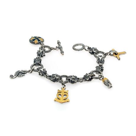 Konstantino Gaia Sterling Silver Bracelet I // Store Display