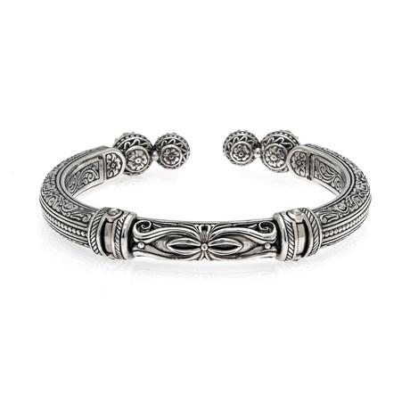 Konstantino Gaia Sterling Silver Bracelet II // Store Display
