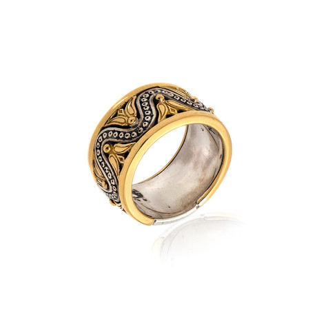 Konstantino Hebe Sterling Silver Ring // Ring Size 7.5 // Store Display