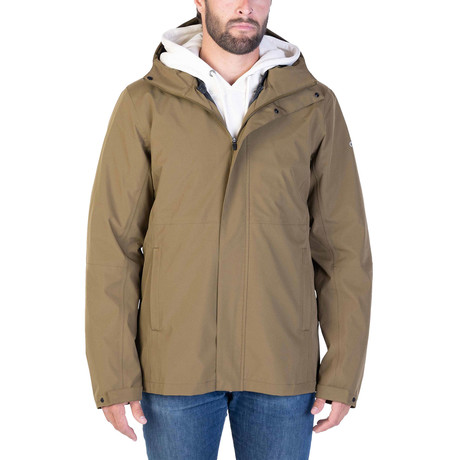 3-in-1 Transition Shell // Military Olive (Small)