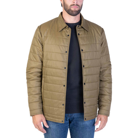 UltraLight Thermal Shacket // Military Olive (Small)