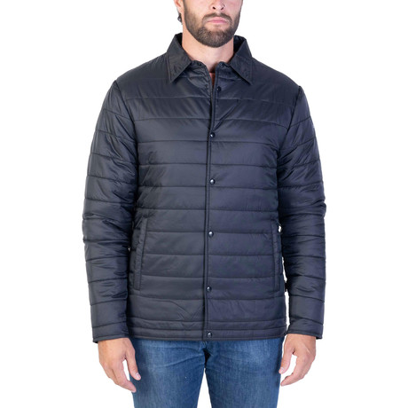 UltraLight Thermal Shacket // Muted Black (Small)