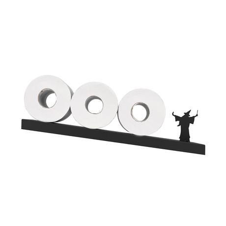 Merlin // Toilet Paper Shelf (Black)