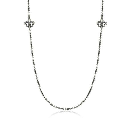 """Giglio Chain // Silver (22"""")"""