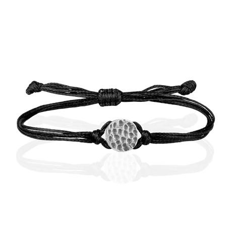 "Lucky Charm Bracelet // Black (8"")"