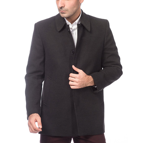Bangkok Coat // Anthracite (Medium)