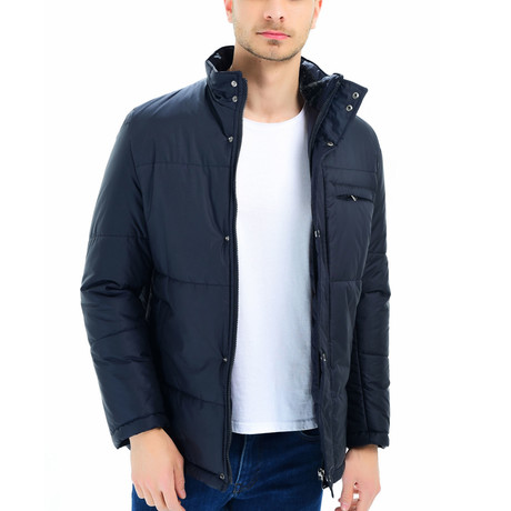 Antalya Coat // Dark Blue (Medium)
