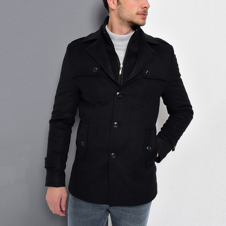 Borah Coat // Black (Medium)