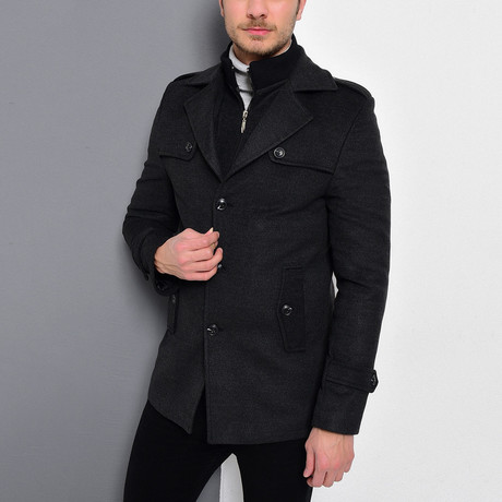 Borah Coat // Anthracite (Medium)