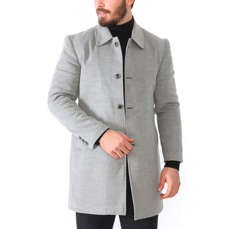 London Coat // Light Gray (Medium)