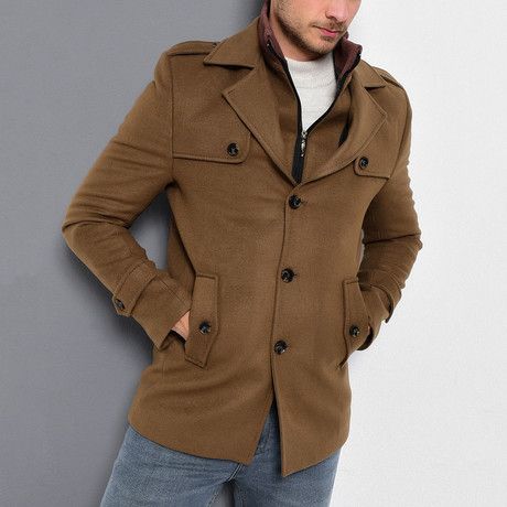 Borah Coat // Camel (Medium)