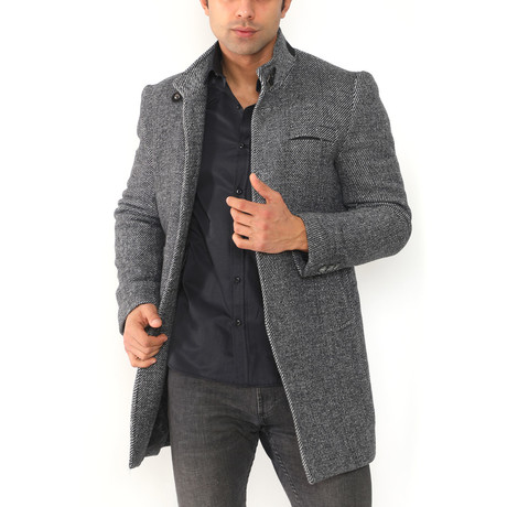 Paris Coat // Dark Anthracite (Medium)