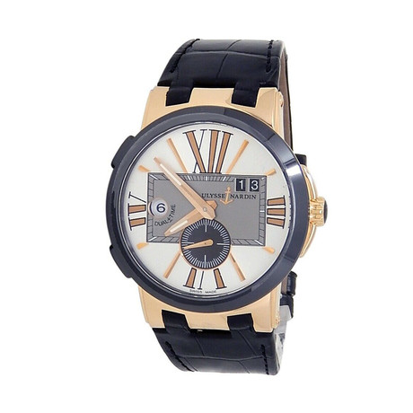 Ulysse Nardin Executive Dual Time Automatic // 246-00/421 // Pre-Owned