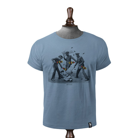 Armed Police T-shirt // Noble Blue (XS)