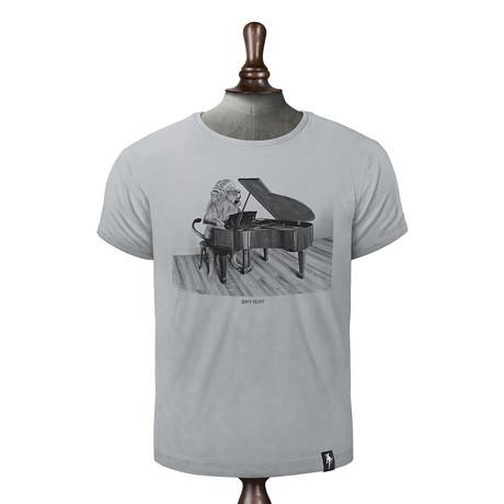 Concerto Cat T-shirt // Highrise Gray (XS)