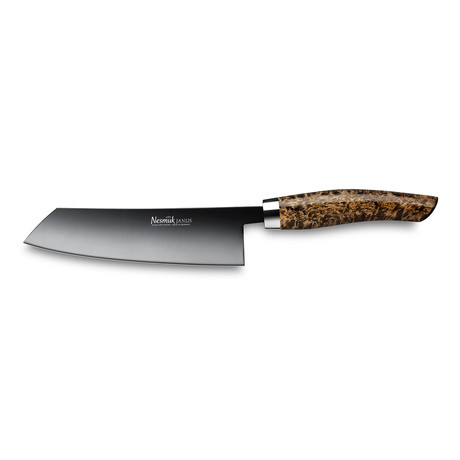 Nesmuk JANUS // Chef's Knife 140 Karelian Birch Burl