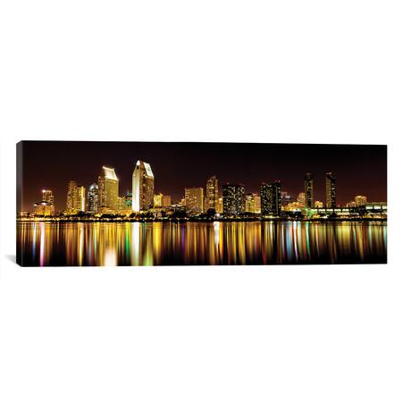 """San Diego Skyline // Danita Delimont (60""""W x 20""""H x 0.75""""D)"""