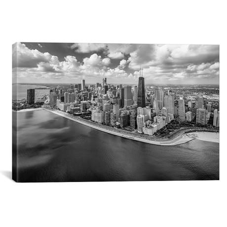 "Chicago Gold Coast Panoramic // Adam Romanowicz (40""W x 26""H x 1.5""D)"