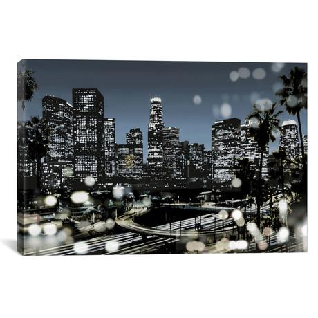 """L.A. Nights II // Kate Carrigan (40""""W x 26""""H x 1.5""""D)"""