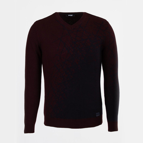 Simeon Sweater // Claret Red (S)