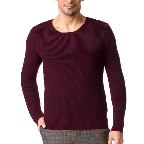 Rex Sweater // Claret Red (S)