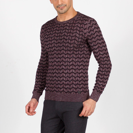 Talon Sweater // Claret Red (S)