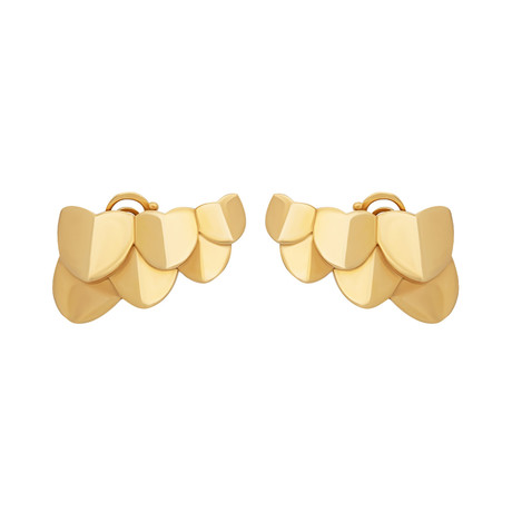 Une Ile D'or Yellow Gold Earrings