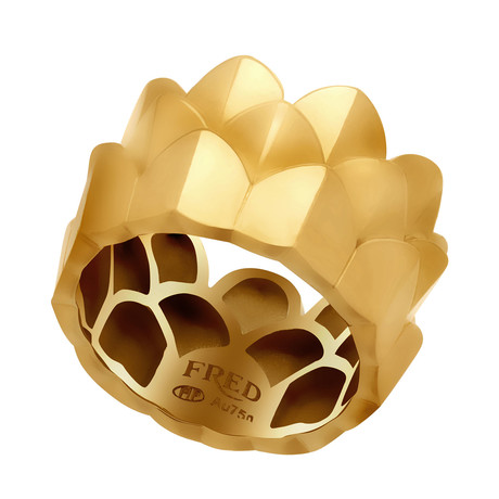 Une Ile D'or Yellow Gold Ring III // Ring Size: 4.75