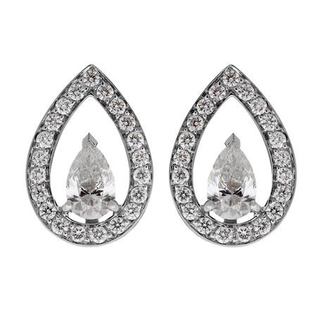 LoveLight White Gold + Diamond Earrings I