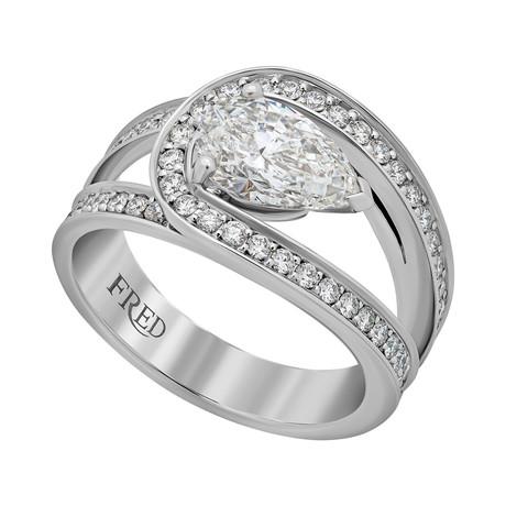 Lovelight Platinum + Diamond Ring // Ring Size: 5.25