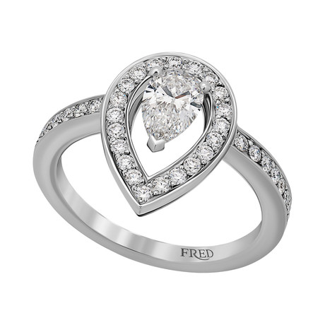 Lovelight Platinum + Diamond Ring III // Ring Size: 5.75