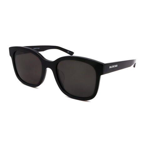 Balenciaga // Unisex BB0076SK-006 Sunglasses // Black + Gray
