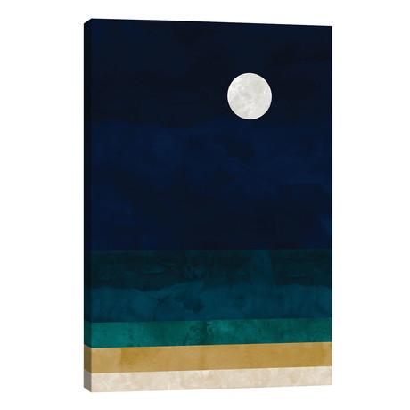 "Abstract Seascape // Van Credi (26""W x 40""H x 1.5""D)"