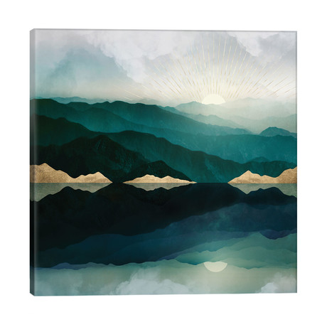 """Waters Edge Reflection // SpaceFrog Designs (26""""W x 26""""H x 1.5""""D)"""