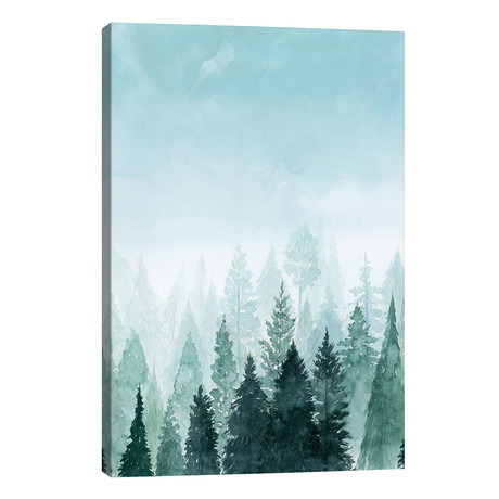 "Into the Trees I // Grace Popp (26""W x 40""H x 1.5""D)"