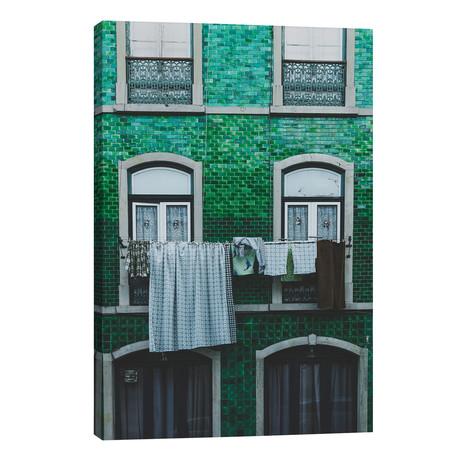 "Lisbon, Portugal // Luke Anthony Gram (26""W x 40""H x 1.5""D)"