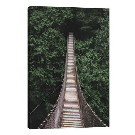 "Lynn Valley Suspension Bridge // Luke Anthony Gram (26""W x 40""H x 1.5""D)"