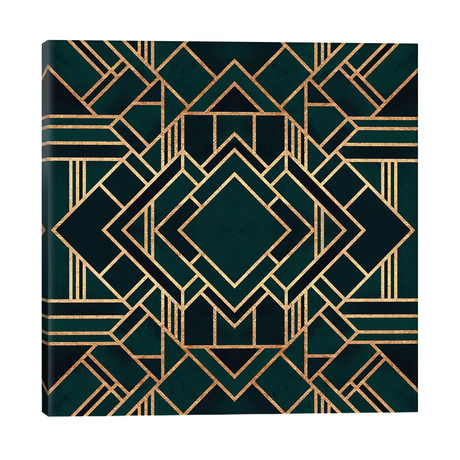 "Art Deco II // Elisabeth Fredriksson (26""W x 26""H x 1.5""D)"