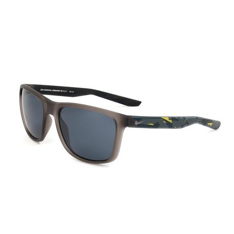 Men's Essential Endeavor Sunglasses // Matte Gunsmoke + Dark Gray