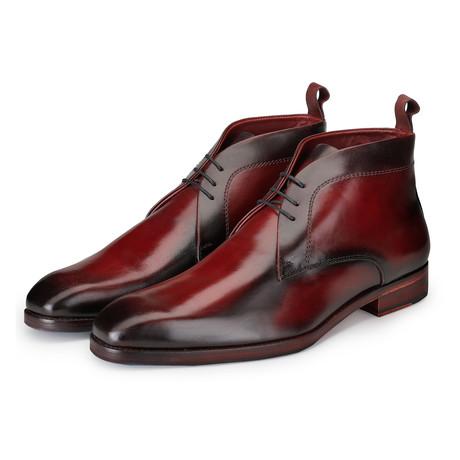 Chukka Boots // Wine Red (US: 8)